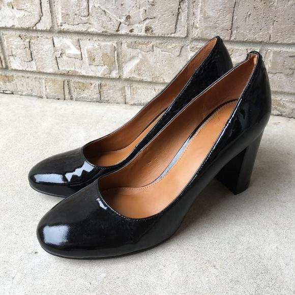 dd3c65956a Franco Sarto Shoes - Franco Sarto Aziza Patent Leather Black Pumps 6.5